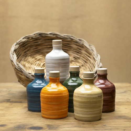 Orcio in ceramica da 100 ml - olio extra vergine d'oliva - Puglia