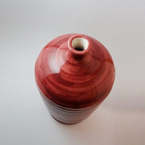 Base per lampada in ceramica artigianale pugliese