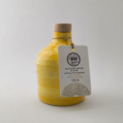 Molto Mini - orcio in ceramica artigianale pugliese con 100 ml di olio extra vergine d'oliva